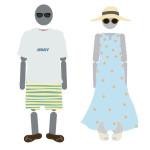 沖縄旅行の服装は何を着るべき?季節ごとにイラストで解説