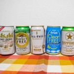 車社会の強い味方、「ノンアルコールビール」6種類を飲み比べ