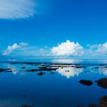 沖縄でウユニ写真が撮れる!?水面反射を撮影するコツ