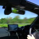 沖縄の高速道路はゆっくり走ろう。法定最高速度は80kmです!