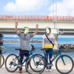 ちゅらぽた「ガイド付ポタリング」で自転車散歩!やちむん通り・青い海が最高でした