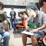 【みなみのひげ自分磨き】沖縄で本気のプログラミング教室 @CODE BASE!ウェブアプリがつくれるレベルにスキルアップ中