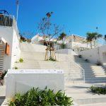ウミカジテラスの「白い壁」は沖縄の地域資源をフル活用してできていた!